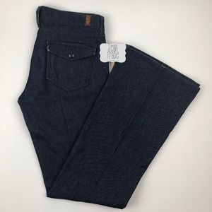 7 for all mankind flare trousers jeans 29x33.5